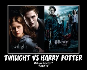 twilight vs harry potter